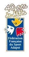 logo FFSA (40 ans)