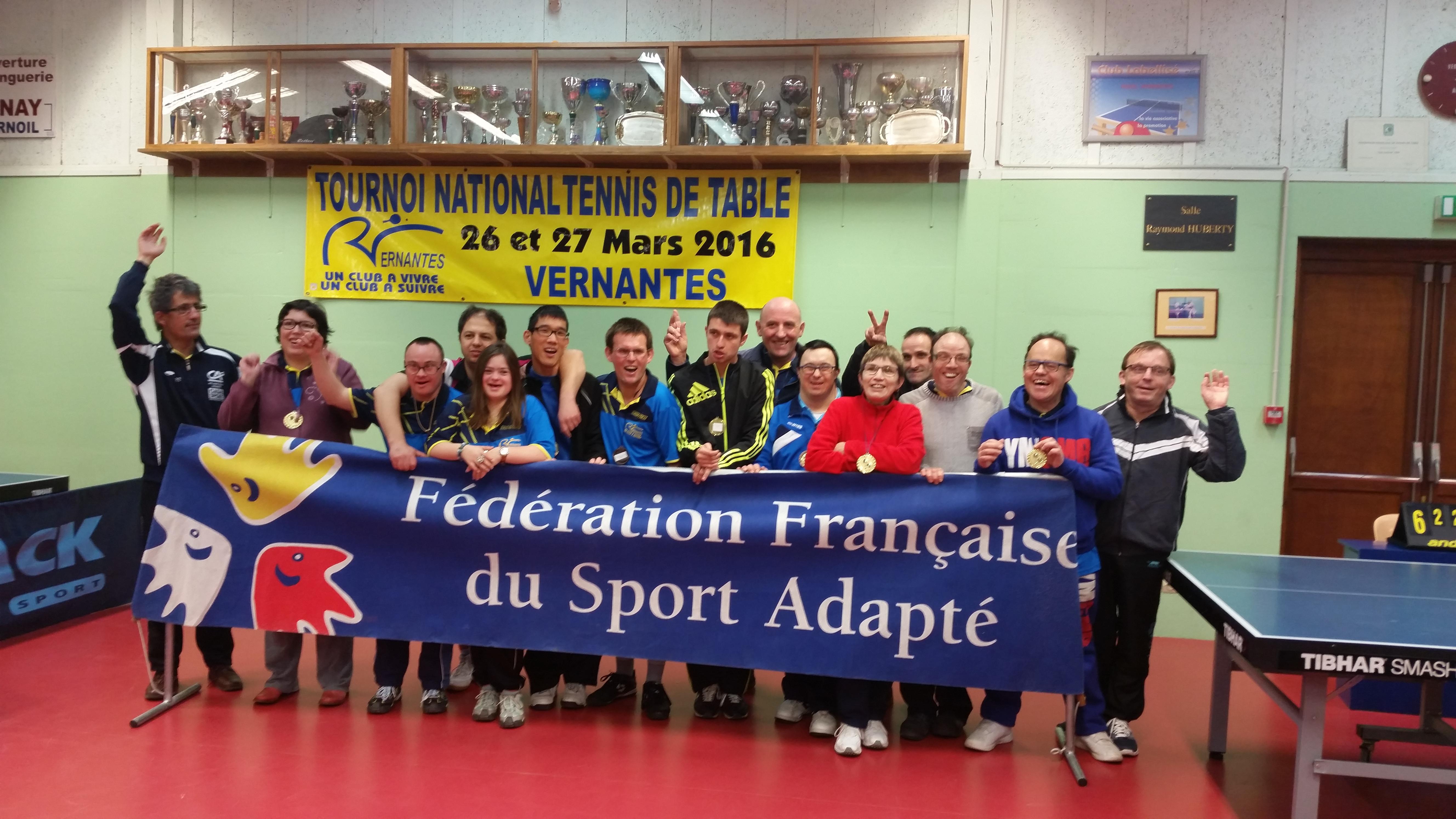 Championnat d partemental tennis de table comit d partemental sport adapt 49 - Wake sport tennis de table ...